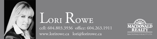 Vancouver Realtor Lori Rowe for staging in vancouver